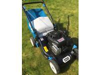 Self-propelled petrol lawnmower