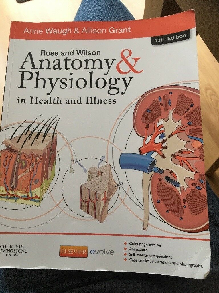 Ross& Wilson Anatomy & Physiology in health and illness . 12th ed ...