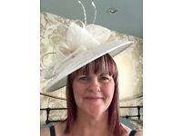 Lovely special occasion hat/fascinator