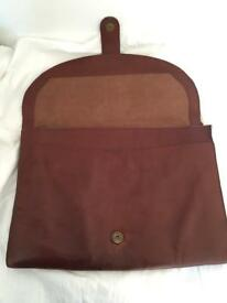 Italian leather file/ document/ laptop case