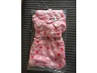 Debenhams Girls infant dressing gown