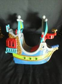 Early learning happy land pirate ship