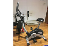 Cintura Sports exercise bike with 16 programs, 16 levels for 9 different body types