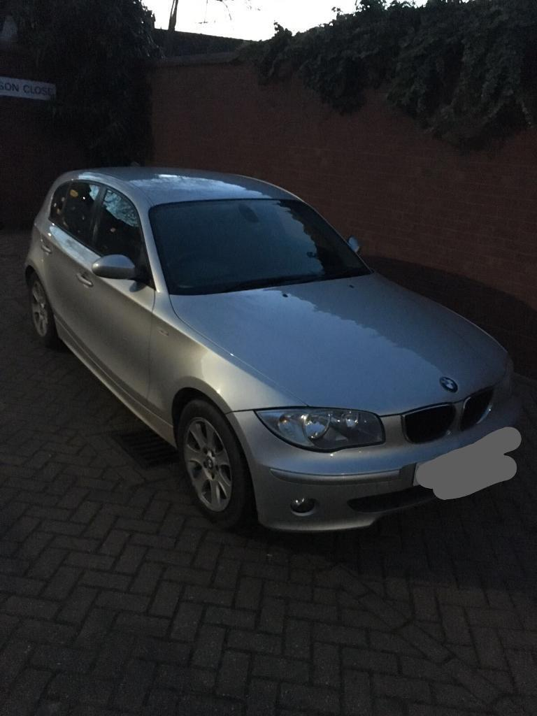 BMW 1 series in silver