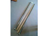 """90"""" Two Piece Snooker Cue -half-butt cue-plus 84"""" half butt rest - sale as pair only"""