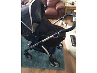 silver cross pram pushchair travel system car seat bumper bar basket