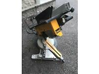 Dewalt chop saw and rip saw (all in one)