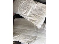 Ikea Bandblad Memory Foam Pillows with Protective Covers