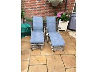 Two Steamer chairs