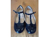 Girls Navy Patent T Bar shoes Size 12 from Next Great condition Hardly worn