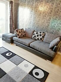 DFS 4 seater sofa and spin sofa, Very good condition £250 ono
