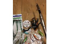 collection of goods for fishing