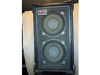 HH Electronic 212 DC 130w Speakers (x2)