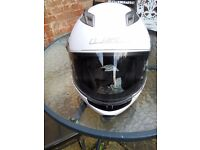 LS2 FF370 Flip Front Motorcycle Helmet with built in sun visor - size XL