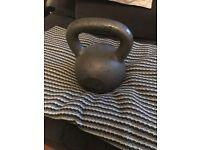 24 kg kettle bell, iron cast