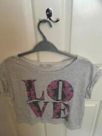 LOVE t-shirt 8yrs