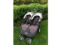 Baby Jogger City Mini Double includes 2 x cozy toes & raincover