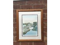 ANDREW JAMES WELSH ARTIST - LIMITED EDITION SIGNED FRAMED PRINT-