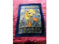 Baby Soft Fleece Blanket With Disney Tweety