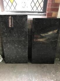 2 marble slabs