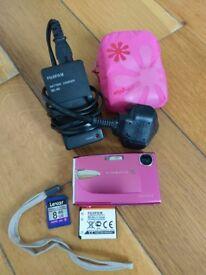 Fujifilm finepix 10 mega pixels z20fd champagne pink
