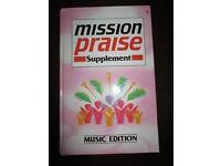 Mission Praise & Let's Praise Music Books
