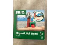 Brio Wooden Magnetic Bell System for Railway in original box (33754)