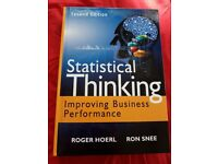 """Selling """"Statistical thinking"""" like new."""
