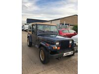 1993 WRANGLER JEEP 4x4 4.0 manual with hardtop sj off-roader ready to go beat the snow