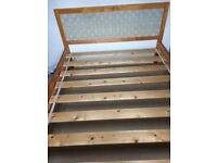 Next Wooden Double Bed Frame