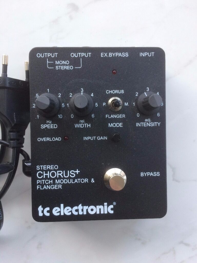 for sale tc electronics scf stereo chorus and flanger pedal effects pedal fx discussions. Black Bedroom Furniture Sets. Home Design Ideas