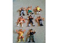 WWF figures vintage