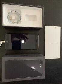 iPhone 8 Plus 256gb space grey, unlocked, pristine in the original packaging