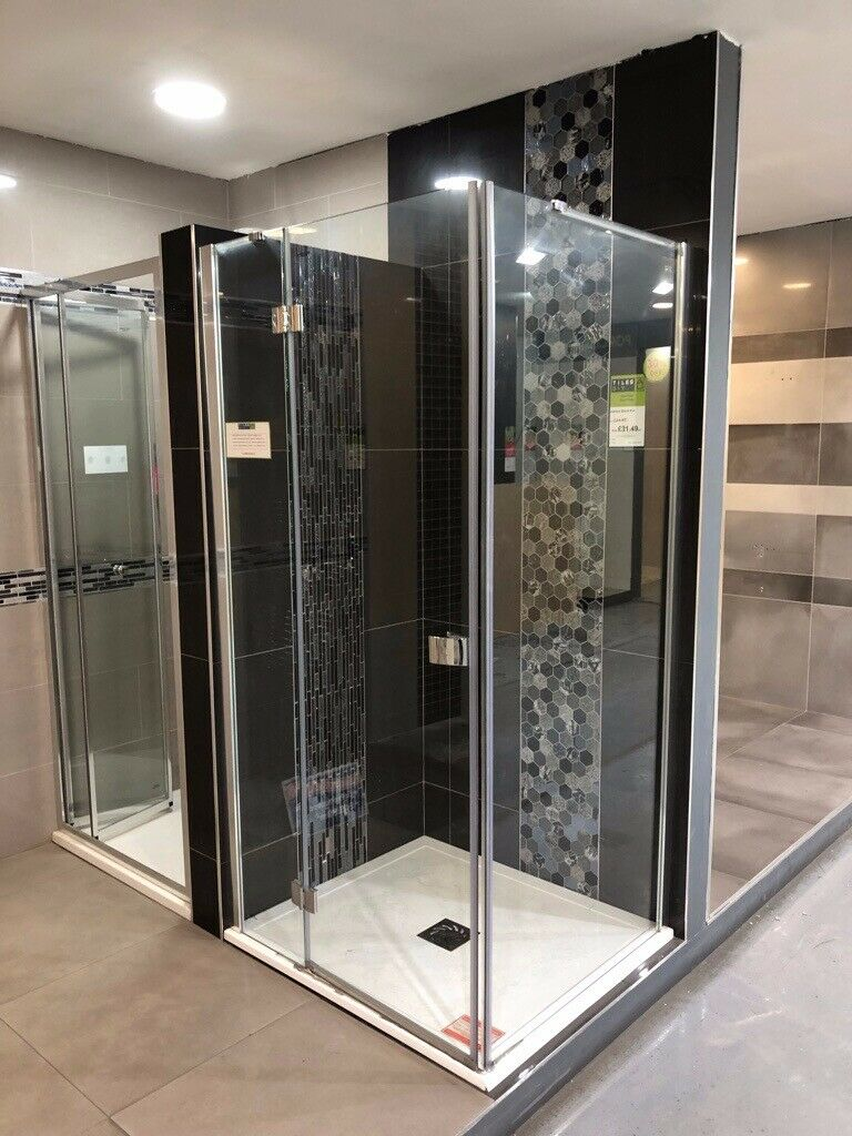 Crosswater Shower Enclosure Unit Design 1000mm Hinged Door X 900mm Side Panel In Edmonton London Gumtree