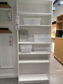 White IKEA bookshelf - free to a new home!