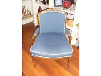 Reproduction French style chair