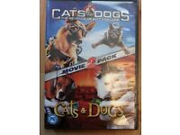 Cats and dogs DVD - Chatham - £2 only