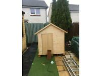 Toddlers wooden play house