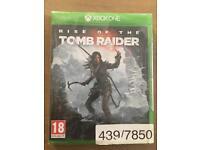 Tom Raider game for Xbox One Brand New Unopened