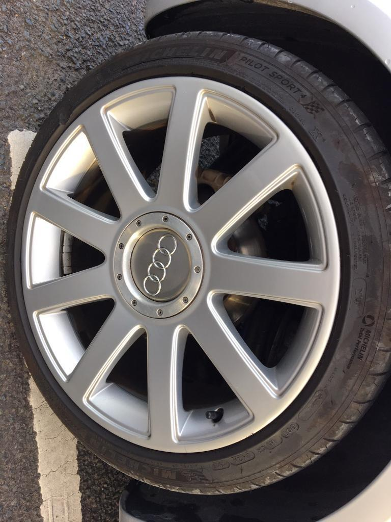 Audi TT Mk Alloys X Seat Vw Mk Golf Wheels In Dundonald - Audi rims