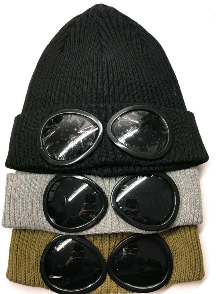 420177c02 New CP Company Beenie Goggle Winter Hat   in Leicester, Leicestershire    Gumtree