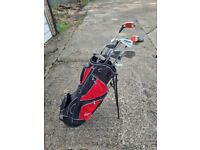 Collection of golf clubs and bag - Ping, dunlop & Masters