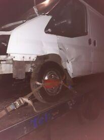 Spears and repair van