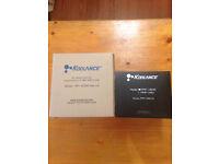 Brand New Unused Koolance RP-452X2 Dual Bay PC Watercooling Resevoir and PMP-450 Pump