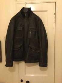 Butter's men's leather jacket....Size medium....