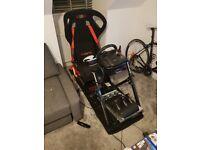 Next level racing sim rig
