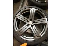 19inch VW R Wheels