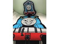 Thomas the tank pillow and rug