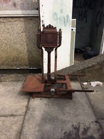 Old scale perfect for garden ornament