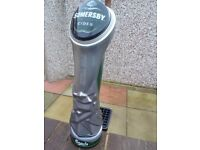 beer pump carlsberg somersby cider extra cold with drip tray
